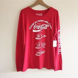 Lucky Brand Coca Cola Graphic Long Sleeve Tee